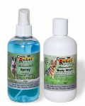 Kit 3 - Canine 8oz Spray & 8oz Medicated Body Wash Set