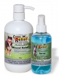 Kit 4 - 8 oz Antimicrobial Spray & 16 oz Wound Lotion Set