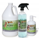 Kit 6 - Large Gallon Med. Body Wash 32oz Spray 16 oz Wound  Relief