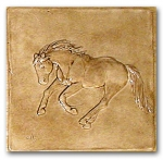 Missy bas-relief ceramic tile  Old English