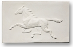 WeatherVane Horse - Gloss White