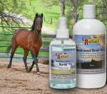 Equine Kit 2 - 8oz Antimicrobial Spray & 16oz Antim. Body Wash   -  Save 10%