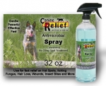 Canine Relief Antimicrobial Spray 32 oz