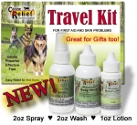 Canine Relief Travel Kit / Sample Kit